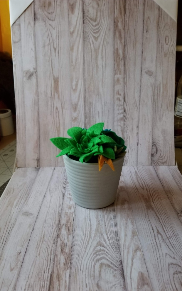 cats cocktails crafts. diy mini photo backdrop 2