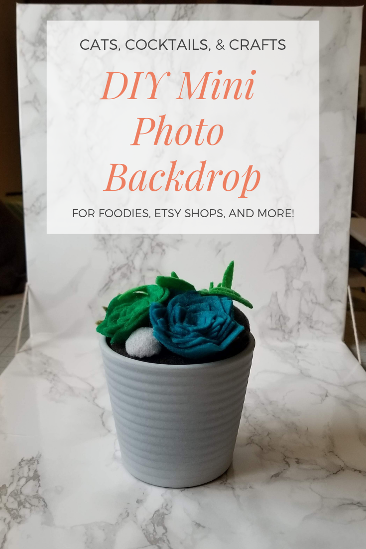 diy mini photo backdrop