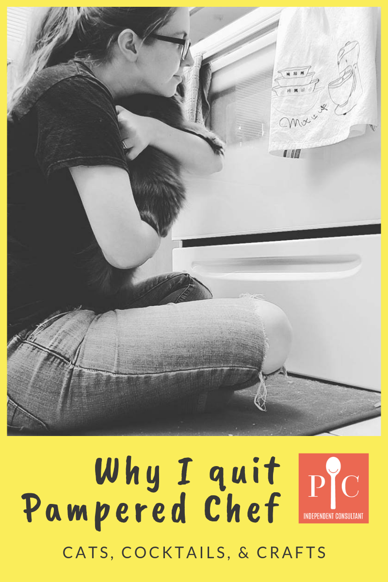 why I quit Pampered Chef